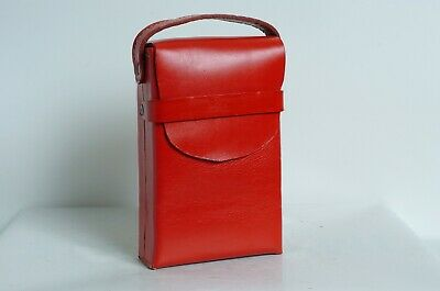 AU29.95 • Buy Hand Made Leather Case For SX-70 Folding Cameras RED! Beautiful!