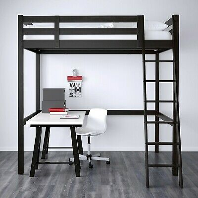 IKEA Loft Bed - Double Wood • 122£