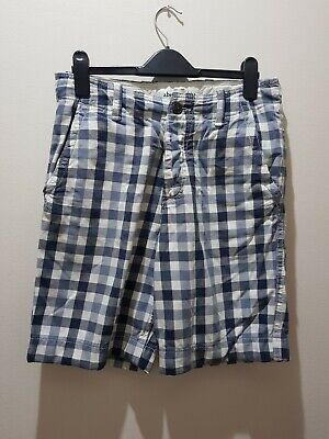 Abercrombie And Fitch Boys Shorts Checkered Blue 14 Summer • 2.99£