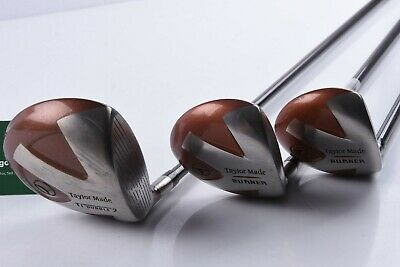 Taylormade Bubble Burner Wood Set / 1,3,5 Wood / Regular Flex Shafts/ Tadbur1495 • 49.95£