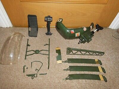 Vintage Action Man Helicopter Spares And Repairs Inc Parts List & Instructions • 11.50£