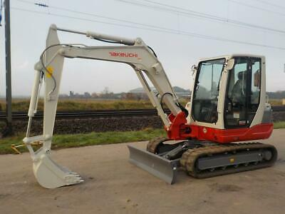 2017 Takeuchi TB250 Mini Excavator Digger Ex Demo Only 10 Hours • 23,000£