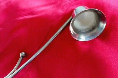 Vintage Shiny Metal Candle Snuffer  Great Gift UK Seller  • 5.39£