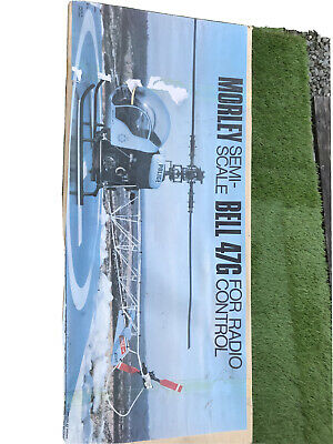 Bell 47 G Vintage Morley Helicopter, New In Box • 251£