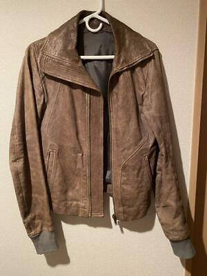Rich Owens Leather Jacket Riders • 1,229.02£