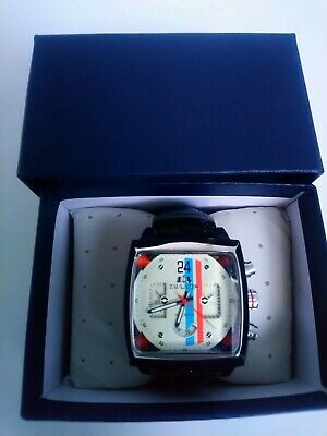 Motorsport Mens Watch New With Tag Le Mans Steve McQueen Style F1 • 49£