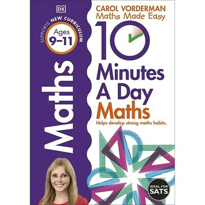 £7 • Buy 10 Minutes A Day Maths: Ages 9-11 By Carol Vorderman (Paperback), Books, New