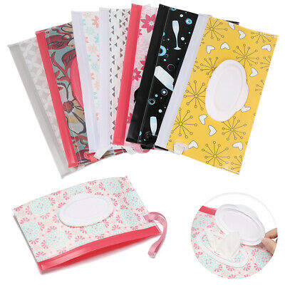 AU10.89 • Buy EVA Baby Wet Wipe Pouch Wipes Holder Case Reusable Refillable Wet Wipe Bag AU~