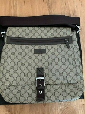 AU329 • Buy Authentic Gucci Classic GG Messenger Crossbody Bag With Flap
