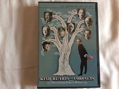 Kind Hearts And Coronets (DVD 2-Disc) OOP Criterion Collection 325 Alec Guinness • 26.99£
