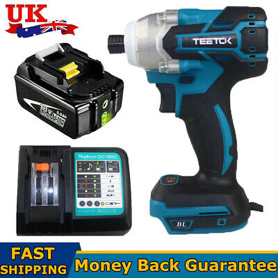 £48.84 • Buy Replace For MAKITA DTW285Z 18V Cordless Brushless Impact Wrench Driver 1/4 Drill