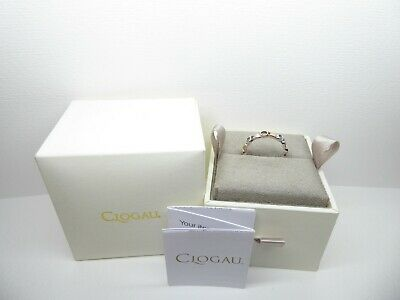Clogau Gold, Silver & Rose Gold Tree Of Life White Topaz Ring Size P RRP £169 • 85£