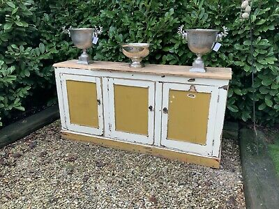 ANTIQUE VICTORIAN SHOP COUNTER/SIDEBOARD, Pine • 395£