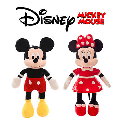 Disney Mickey Mouse Clubhouse Mickey & Minnie Plush Soft Kids Toy Gift • 8.19£