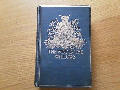 The Wind In The Willows By Kenneth Grahame 1908 2nd Edition  • 195£