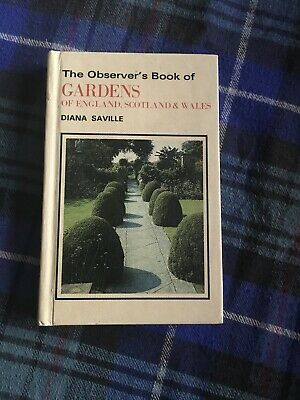 The Observers Book Of Gardens • 14.99£