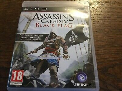 Assassins Creed Black Flag PS3 • 2£