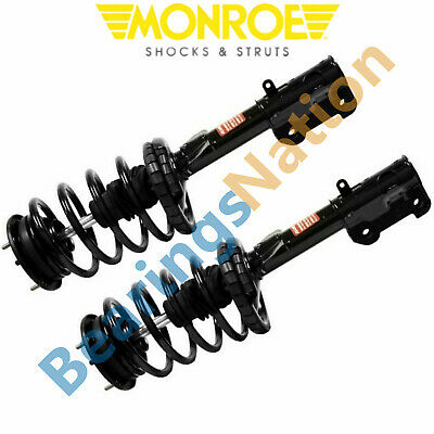 $317.58 • Buy Monroe Front Pair Quick Struts & Coil Spring Assembly For 2005-2010 Ford Mustang