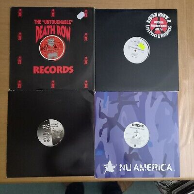 4 X 12  RAP HIP HOP & RnB VINYL RECORDS BUNDLE LOT 1  • 3.99£