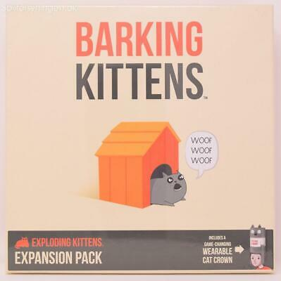 AU39.13 • Buy BARKING KITTENS Brand New Expansion Exploding Kittens Card Game Third Expansion