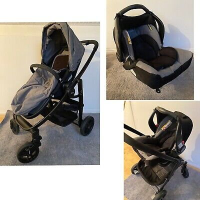 Graco Evo Travel System With Carseat And Attachment. • 87£