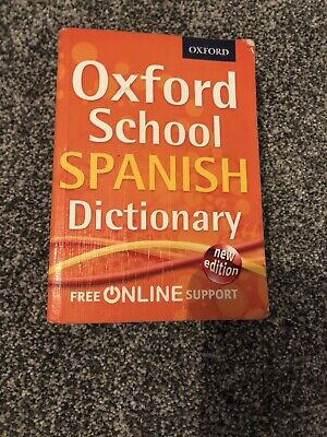 Oxford Mini School Spanish Dictionary By Oxford Dictionaries (Mixed Media... • 0.99£
