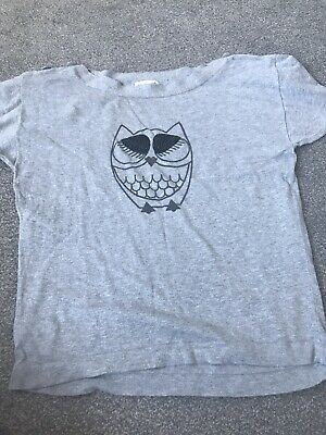 Ladies Next Grey Owl Top/ Jumper • 2.50£