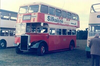 Bus Photo Of A Potteries Photograph Picture Of A Pmt Leyland Titian Neh466. • 0.35£
