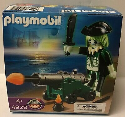 £10.82 • Buy Playmobil  Easter Egg - 4928 Ghost Pirate W/Firing Cannon   -  NEW - 2009
