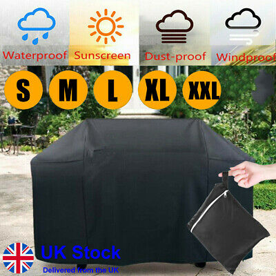 £8.69 • Buy M-XL BBQ Cover Heavy Duty Waterproof Rain Gas Barbeque Grill Garden Protector