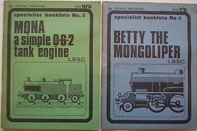 RAILWAY MODELLING. 2 X Old Books On Locomotive Construction. Specialist Booklets • 3.50£