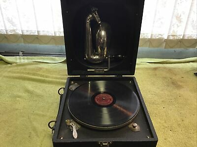 Old Portable Decca Junior Gramophone • 150£