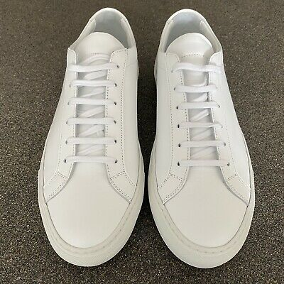 AU320 • Buy COMMON PROJECTS Achilles Low Sneakers Size 41 White BNWT Unwanted Christmas Gift