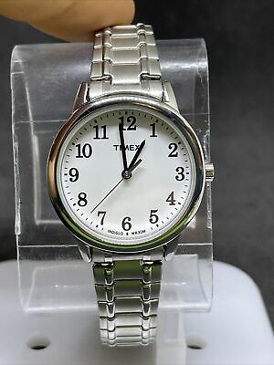 Timex TW2P78500 Women's Easy Reader Silvertone Expansion Band Watch #4 • 0.73£