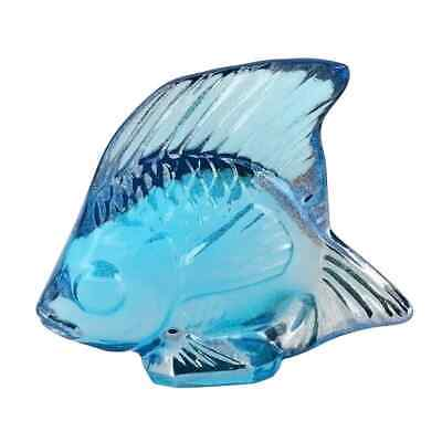 Lalique Turquoise Lustre Fish Crystal 10205600 • 58.99£