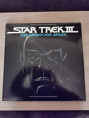 Star Trek III The Search For Spock; James Horner; OST Vinyl LP; 1984 Release • 25£