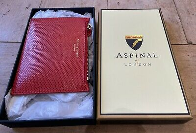 Red Aspinal Of London Purse - In Box • 13.50£