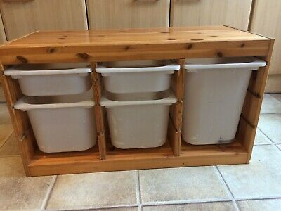 IKEA Trofast Pine Furniture Toy Storage Unit & Drawers (Free Liverpool Delivery • 10£
