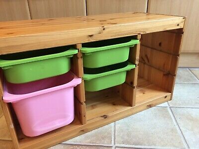 IKEA Trofast Pine Furniture Toy Storage Unit & Drawers (Free Liverpool Delivery • 7£