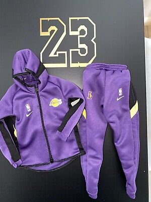 $99.99 • Buy 1/6 OFFICIAL ENTERBAY Real Masterpiece LAKERS LeBron James WARM UP SUIT ONLY