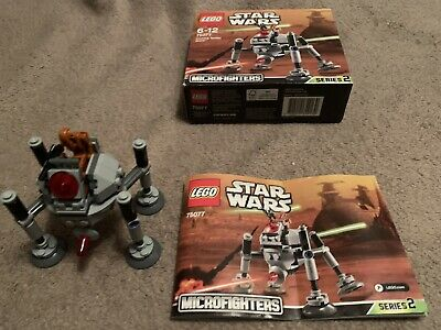 Lego Star Wars Microfighters Series 2 Homing Spider Droid 75077 100% Complete • 2£