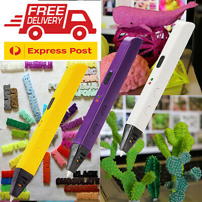 AU39.95 • Buy 3D Printing Pen + 15m Filament - YOU Choose Colour + FREE Express Shipping