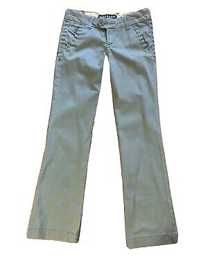 $17.50 • Buy Free Style Revolution Junior Womens Sz 3 Boot Cut Gray Pants Decorative Stiching
