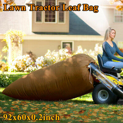 AU38.70 • Buy Universal Lawn Tractor Leaf Bag Blower Waste Bag Refuse Sack For Leave Grass  G
