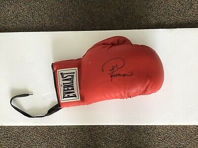 AU259 • Buy Heavyweight Boxing Champ George Foreman Signed Boxing Glove