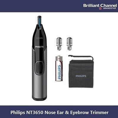 AU65 • Buy Philips Series 3000 NT3650 Nose Ear & Eyebrow Trimmer