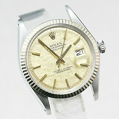 $ CDN3240.03 • Buy Vintage ROLEX OYSTERPER PETUAL DATEJUST Ref 1601 AUTOMATIC  Cal 1570  26 Jewels