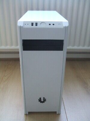 White Bitfenix Nova Pc Case With 350W Psu ,sata  Dvdrw Drive ,great Condition • 27£
