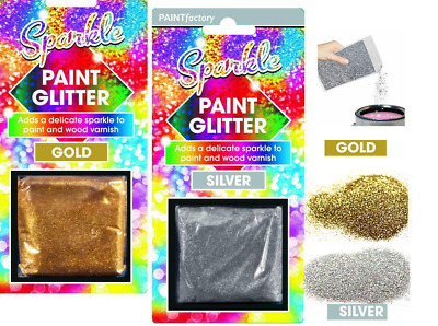 Glitter Crystals For Paint, Walls, Ceilings & Crafts  • 2.99£
