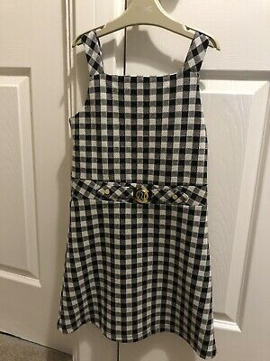 River Island Girls Checked Dress. Age 7-8 Years • 3.99£